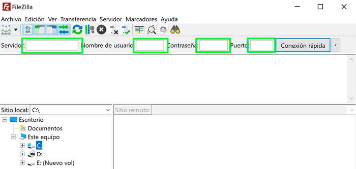 Conexión-con-Filezilla